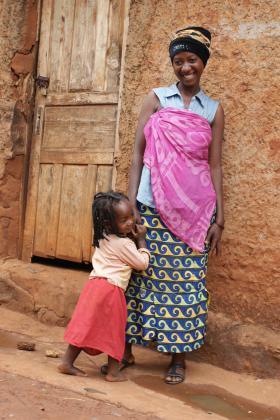 Mother and child, Burundi