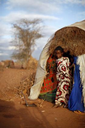 Refugee tent, Dadaab