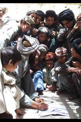 Education activity in Afghanistan